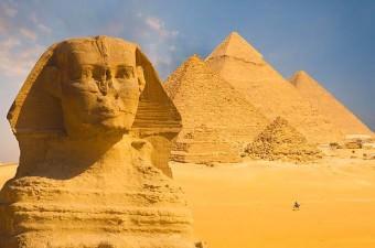 Araştırmacılara göre, Büyük Gize Sfenksi'nin yüzü, eskiden kırmızı renkteydi.