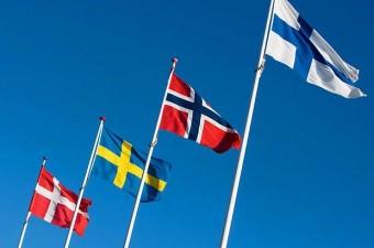 Bütün İskandinav ülkelerinin bayraklarında haç işareti vardır.