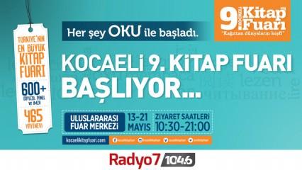 Radyo 7 Dokuzuncu Kocaeli Kitap Fuarı'nda