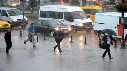 Son dakika: Meteoroloji İstanbul için saat verdi!