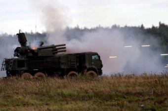 RUSYA  Pantsir-S1 - Kısa ve orta menzilli hava savunma sistemi