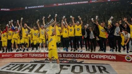 Ve kupa geldi! Fenerbahçe destan yazdı!