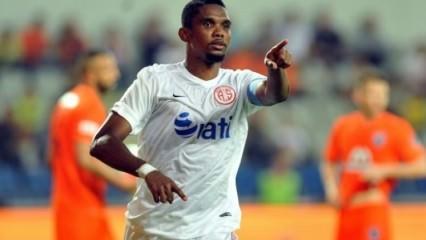 Antalyaspor'dan Eto'o açıklaması!