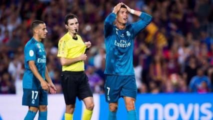 Hakemi iten Ronaldo'ya tarihi ceza!