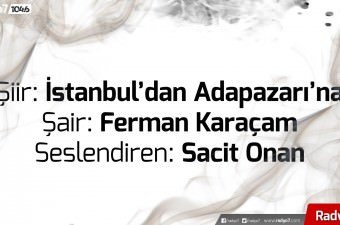 Sacit Onan - İstanbul'dan Adapazarı'na (Şair: Ferman Karaçam)