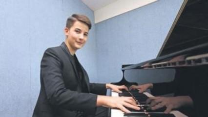 Genç piyanist dünya birincisi