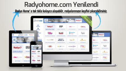 Radyohome.com yenilendi