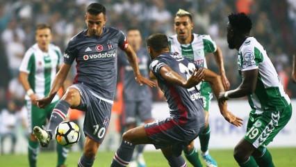 Beşiktaş'ın konuğu Konyaspor! Muhtemel 11'ler