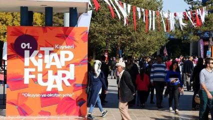 Kayseri Kitap Fuarı sona erdi (580 bin ziyaretçi)