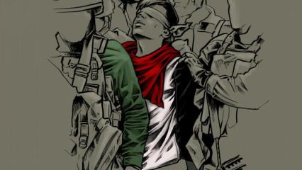 İtalyan ressam Kudüs direnişini resmetti