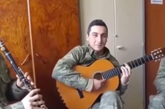Mehmetçikten Müzik Ziyafeti