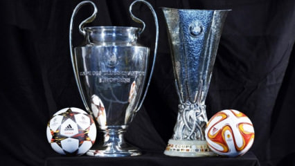 Avrupa futbolunda kura heyecanı!