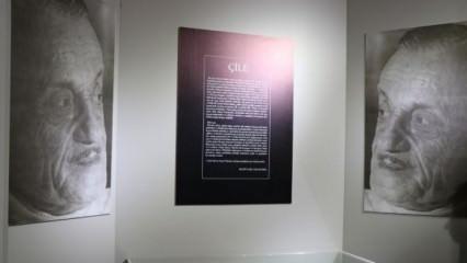 Necip Fazıl Kısakürek'in 'Çile' sergisi açıldı