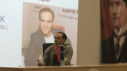 Radyo 7'yle Umut Öztürk Namık Kemal Üniversitesi Öğrencileriyle Buluştu