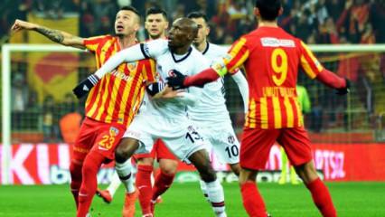 Beşiktaş'ın konuğu Kayserispor! Muhtemel 11'ler
