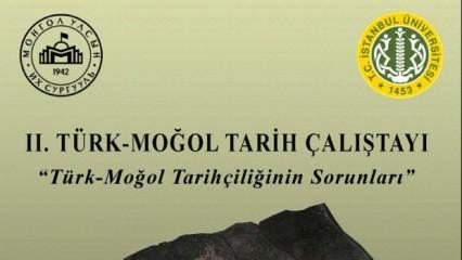 2. Türk - Moğol çalıştayı İstanbul'da