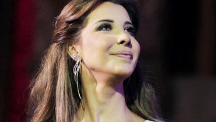 Lübnanlı şarkıcı Nancy Ajram İstanbul'da