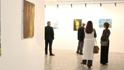Türk sanatçıların eserleri Arnavutluk'ta sergileniyor