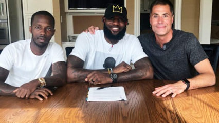 LeBron James imzayı attı! Resmen...