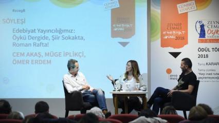 Edebiyat ve yayıncılık dünyası Haliç'te buluştu