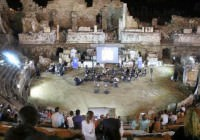 Side Antik Tiyatrosu'nda Müzik Dinletisi