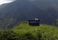 Kaçkar Dağı'nda piyanoyla klip